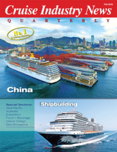 Cruise Industry News Fall Quarterly magazine